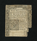 Colonial Notes:Connecticut, Connecticut June 7, 1776 10s Uncancelled Fine, damaged....