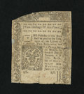 Colonial Notes:Connecticut, Connecticut June 7, 1776 2s/6d Fine, repaired....