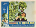 "Movie Posters:Science Fiction, Invasion of the Saucer-Men (American International, 1957). LobbyCards (2) (11"" X 14"").. ... (Total: 2 Items)"