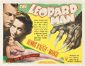 """Movie Posters:Thriller, The Leopard Man (RKO, 1943). Title Lobby Card (11"""" X 14"""").. ..."""