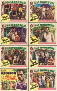 "The Song of Freedom (Song of Freedom, Inc., 1936). Lobby Card Set of 8 (11"" X 14""). ... (Total: 8 Items)"