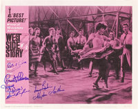 """West Side Story (United Artists, 1961). Autographed Lobby Card (11"""" X 14"""") Academy Award Style"""