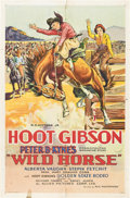 "Movie Posters:Western, Wild Horse (Allied Pictures, 1931). One Sheet (27"" X 41"") and TitleLobby Card and Lobby Cards (3) (11"" X 14"").. ... (Total: 5 Items)"