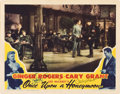 "Movie Posters:Comedy, Once Upon A Honeymoon (RKO, 1942). Autographed Lobby Card (11"" X14"").. ..."