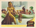 """Movie Posters:Fantasy, Kismet (MGM, 1944). Autographed Lobby Card (11"""" X 14"""").. ..."""