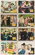 "Movie Posters:Comedy, Jitterbugs (20th Century Fox, 1943). Lobby Card Set of 8 (11"" X14"").. ... (Total: 8 Items)"