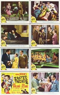 """Easter Parade (MGM, 1948). Lobby Card Set of 8 (11"""" X 14""""). ... (Total: 8 Items)"""