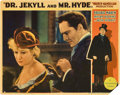 """Movie Posters:Horror, Dr. Jekyll and Mr. Hyde (Paramount, 1931). Lobby Card (11"""" X 14"""").. ..."""