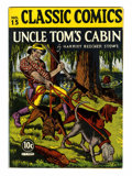 Golden Age (1938-1955):Classics Illustrated, Classic Comics #15 Uncle Tom's Cabin - First Edition (Gilberton,1943) Condition: FN....