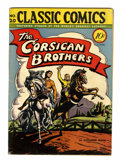 Golden Age (1938-1955):Classics Illustrated, Classic Comics #20 The Corsican Brothers - First Edition (Gilberton, 1944) Condition: VG/FN....