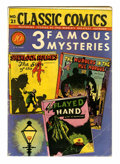 Golden Age (1938-1955):Classics Illustrated, Classic Comics #21 - 3 Famous Mysteries - First Edition (Gilberton,1944) Condition: VG....