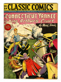 Golden Age (1938-1955):Classics Illustrated, Classic Comics #24 A Connecticut Yankee in King Arthur's Court -First Edition (Gilberton, 1945) Condition: VG/FN....