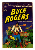 Golden Age (1938-1955):Science Fiction, Buck Rogers #100 (#7) (Toby Publishing, 1951) Condition: VG/FN....