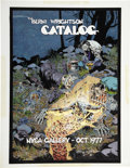 Original Comic Art:Covers, Bernie Wrightson The Berni Wrightson Catalog NYCA Gallery - Oct.1977 Cover Original Art (NYCA Gallery, 1977)....