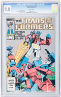 Modern Age (1980-Present):Superhero, Transformers CGC-Graded #12, 18, and 19 Group (Marvel, 1986)Condition: CGC NM/MT 9.8 White pages.... (Total: 3 Comic Books)