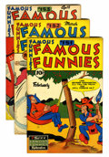 Golden Age (1938-1955):Miscellaneous, Famous Funnies Group (Eastern Color, 1947).... (Total: 7 Comic Books)