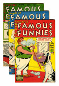 Golden Age (1938-1955):Miscellaneous, Famous Funnies Group (Eastern Color, 1948-49).... (Total: 8 Comic Books)