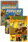 Golden Age (1938-1955):Miscellaneous, Popular Comics #98 and 100-107 Group (Dell, 1944-45).... (Total: 9 Comic Books)