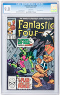 Modern Age (1980-Present):Superhero, Fantastic Four CGC-Graded #321-323 Group (Marvel, 1988-89)Condition: CGC NM/MT 9.8 White pages.... (Total: 3 Comic Books)