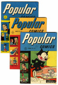 Golden Age (1938-1955):Miscellaneous, Popular Comics Lost Valley pedigree Group (Dell, 1946-47).... (Total: 7 Comic Books)