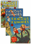 Golden Age (1938-1955):Miscellaneous, Famous Funnies Rockford pedigree Group (Eastern Color, 1941-45).... (Total: 7 Comic Books)