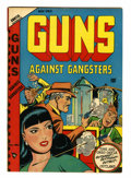 Golden Age (1938-1955):Crime, Guns Against Gangsters #2 (Novelty Press, 1948) Condition: FN+....