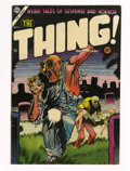 Golden Age (1938-1955):Horror, The Thing! #16 (Charlton, 1954) Condition: VF-....