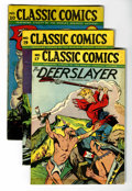 Golden Age (1938-1955):Classics Illustrated, Classics Illustrated Group (Gilberton, 1944-49) Condition: AverageVG.... (Total: 14 Comic Books)