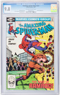 Modern Age (1980-Present):Superhero, The Amazing Spider-Man #221, 222, and 223 CGC-Graded Group (Marvel,1981) CGC NM/MT 9.8 Off-white to white pages.... (Total: 3 ComicBooks)
