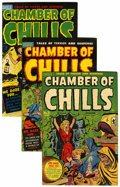 Golden Age (1938-1955):Horror, Chamber of Chills File Copy Group (Harvey, 1951-54) Condition:Average FN.... (Total: 14 Comic Books)