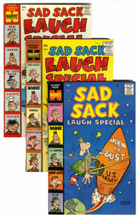 Sad Sack Laugh Special #1-93 File Copy Group (Harvey, 1958-77) Condition: Average VF/NM.... (Total: 93 Comic Books)