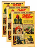 Golden Age (1938-1955):Science Fiction, Flash Gordon #1 Gordon Bread Promotional Comics - Multiple FileCopy Group (Harvey, 1951) Condition: Average VF+.... (Total: 8Comic Books)