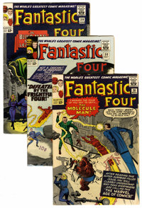 Fantastic Four Group (Marvel, 1963-69) Condition: Average VG.... (Total: 125 Comic Books)