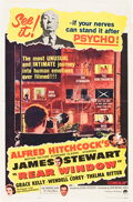 "Movie Posters:Hitchcock, Rear Window (Paramount, R-1962). One Sheet (27"" X 41"").. ..."