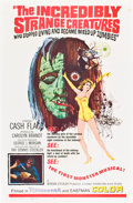 Movie Posters:Cult Classic, The Incredibly Strange Creatures Who Stopped Living and BecameMixed-Up Zombies!!? (Fairway International, 1967). One Sheet ...