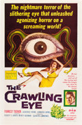 """Movie Posters:Science Fiction, The Crawling Eye (DCA, 1958). One Sheet (27"""" X 41"""").. ..."""