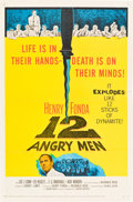 """Movie Posters:Drama, 12 Angry Men (United Artists, 1957). One Sheet (27"""" X 41"""").. ..."""
