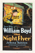 "Movie Posters:Drama, The Night Flyer (Pathé, 1928). One Sheet (27"" X 41"").. ..."