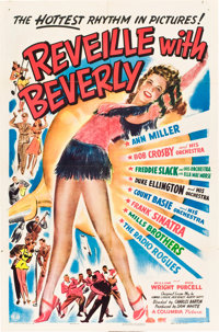 """Reveille with Beverly (Columbia, 1943). One Sheet (27"""" X 41"""")"""