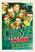 "Movie Posters:Crime, Crime School (Warner Brothers, 1938). One Sheet (27"" X 41"").. ..."