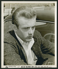 """Rebel Without a Cause Lot (Warner Brothers, 1955). Color and Black and White Stills (2) (8"""" X 10""""). Drama..."""