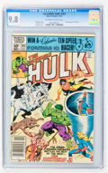 Modern Age (1980-Present):Superhero, The Incredible Hulk #265-267 CGC-Graded Group (Marvel, 1981-82) CGCNM/MT 9.8 Off-white to white pages.... (Total: 3 Comic Books)