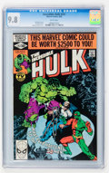 Modern Age (1980-Present):Superhero, The Incredible Hulk #251-253 CGC-Graded Group (Marvel, 1980) CGCNM/MT 9.8.... (Total: 3 Comic Books)