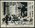 "Movie Posters:Science Fiction, The Beast From 20,000 Fathoms (Warner Brothers, 1953). Autographed Still (8"" X 10""). Science Fiction.. ..."