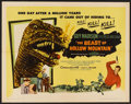 "Movie Posters:Science Fiction, The Beast of Hollow Mountain (United Artists, 1956). Half Sheet (22"" X 28""). Science Fiction.. ..."