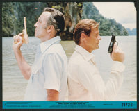 "The Man With the Golden Gun (United Artists, 1974). Mini Lobby Card Set of 8 (8"" X 10""). James Bond. ... (Tota..."