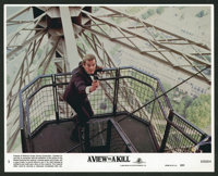 "A View to a Kill (United Artists, 1985). Mini Lobby Card Set of 8 (8"" X 10 ""). James Bond. ... (Total: 8 Items..."
