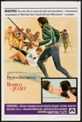 "Movie Posters:Drama, Romeo and Juliet (Paramount, 1969). One Sheet (27"" X 41""). Drama....."