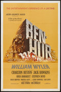 "Movie Posters:Historical Drama, Ben-Hur (MGM, 1959). One Sheet (27"" X 41""). Historical Drama.. ..."
