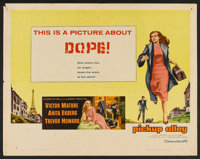 "Pickup Alley (Columbia, 1957). Half Sheet (22"" X 28""). Crime"